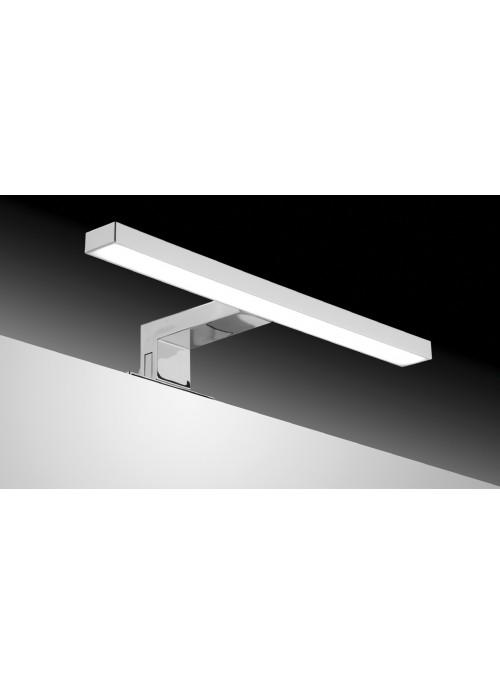 Sdz Aplique LED 30 cm ABS cromado luz fría